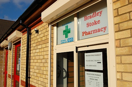 The new Bradley Stoke Pharmacy in Brook Way