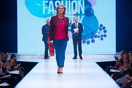 Heart Breakfast's Paulina Gillespie on the catwalk