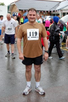 Jack Lopresti MP at the Bradley Stoke 10k Run in 2011