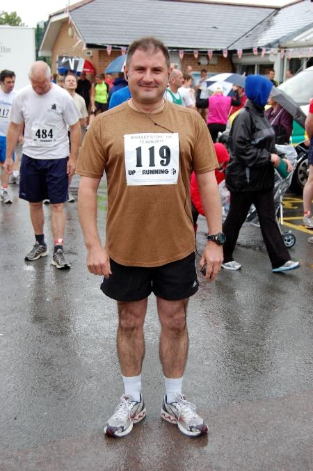 Jack Lopresti MP at the Bradley Stoke 10k Run in 2011