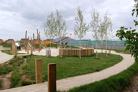 Jubilee Green play park, Bradley Stoke