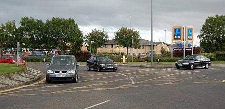 Patchway Brook Roundabout, Bradley Stoke, Bristol