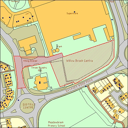 McCarthy & Stone development in Savages Wood Road, Bradley Stoke