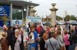Bradley Stoke Way road safety petition launch