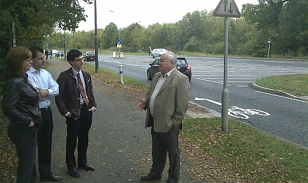 Conservative Councillors on Bradley Stoke Way