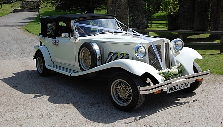 Wedding services in Bradley Stoke - wedding car