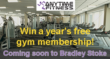 Win a year's free gym membership at Anytime Fitness, Bradley Stoke