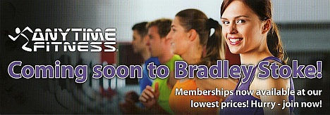 Anytime Fitness 24-hour gym - opening soon in Bradley Stoke