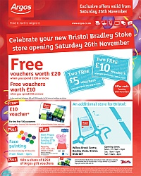 Opening offers at Argos Bradley Stoke