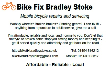 Bike Fix Bradley Stoke - mobile bicycle repairs in North Bristol