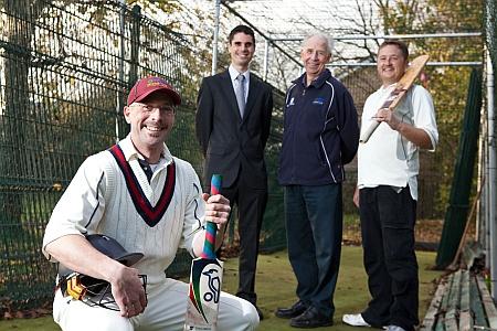 Nets at Bradley Stoke Cricket Club