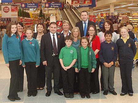 Tesco Bradley Stoke Vouchers for Schools