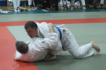 Trevor King of Bradley Stoke Judo Club, Bristol