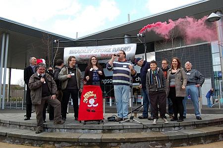 Launch of Bradley Stoke Radio's second FM transmission