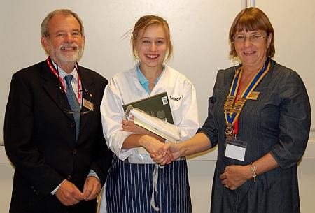 Bradley Stoke Young Chef winner Abbie Pearce