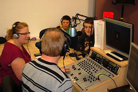 Bradley Stoke Radio studio