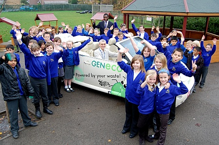 GENeco's Bio-Bug at Holy Trinity Primary School in Bradley Stoke