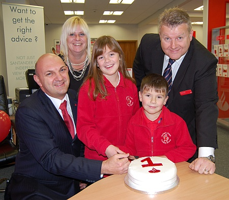 Santander Bradley Stoke - first anniversary