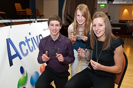 Dylan Cordukes (left) - Young Sportsperson of the Year