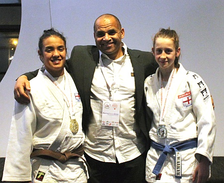 Bradley Stoke Judo Club's Commonwealth medal winners