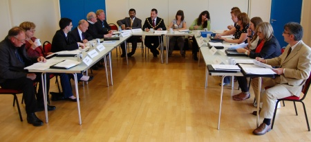 Annual General Meeting of Bradley Stoke Town Council (2011).
