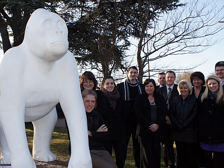 Bristol Zoo's Wow! Gorilla No. 62 at Dunkley's, Bradley Stoke
