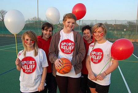 Bradley Stoke Netball Club Juniors - Sport Relief Mile