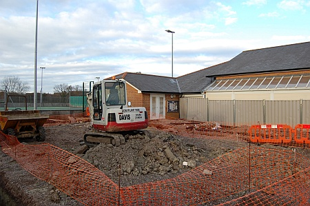 Construction of new offices for Bradley Stoke Town Council