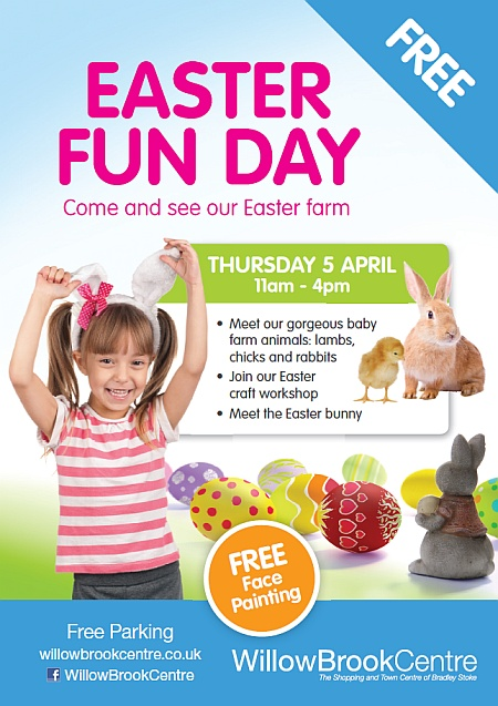 Easter Fun day at the Willow Brook Centre, Bradley Stoke