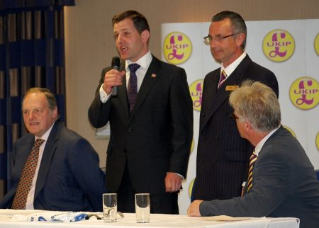 Ex-Tories Ben Walker and Ed Rose are welcomed into UKIP.