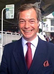Nigel Farage, leader of the UK Independence Party. [Photo: Dweller; Licence: CC BY-SA 3.0]