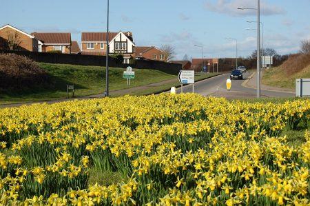 Great Stoke Roundabout, Bradley Stoke.