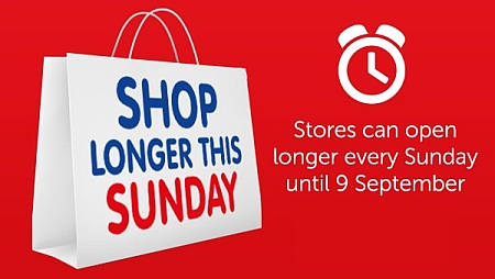 London 2012 Olympics: Shop longer this Sunday.