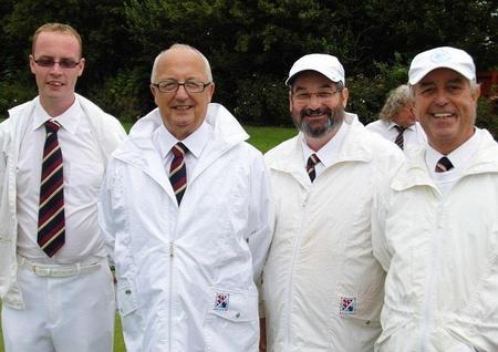 Bradley Stoke Bowls Club players.