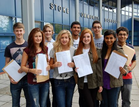 Star GCSE performers at Bradley Stoke Community School.