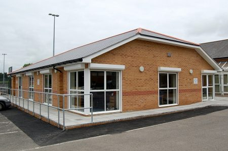 Bradley Stoke Town Council's new office building at the Jubilee Centre.