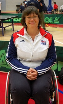 Karen Butler, member of the Great Britain shooting team.