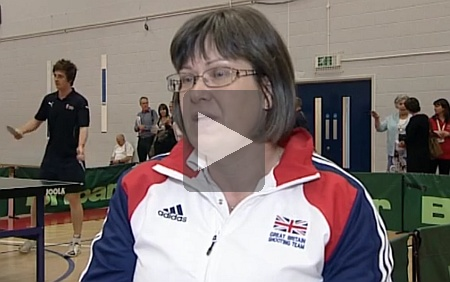 Interview with Great Britain shooting team member Karen Butler (ITV News).
