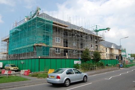 Merlin Housing Society's development of affordable housing in Bradley Stoke.
