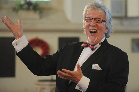 Choir conductor Grenville Jones - of Last Choir Standing fame.