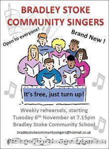 Bradley Stoke Community Singers.