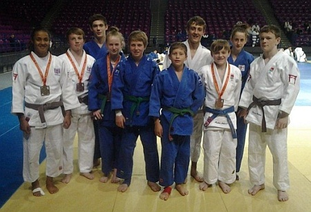 Bradley Stoke Judo Club at the Warsaw Open.