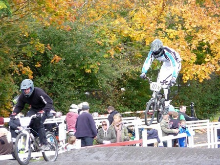 Action from Round 1 of Bristol BMX Club's 2012/13 Winter Series in Patchway.