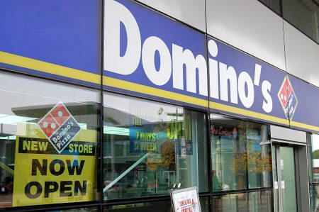Domino's Pizza - now open at the Willow Brook Centre in Bradley Stoke.