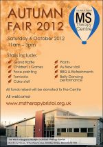 Autumn Fair at the MS Therapy Centre in Bradley Stoke, Bristol.