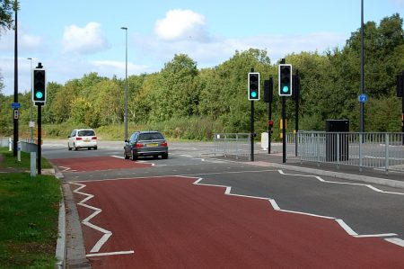 New pedestrian crossing now operational on Bradley Stoke Way.