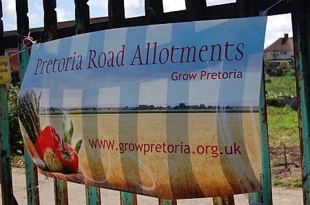 Pretoria Road allotments, Patchway, Bristol.