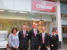 Chelsea Building Society supports the West of England MS Therapy Centre.