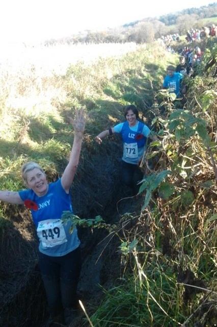 Sole Sisters runners participate in the 2012 Sodbury Slog.