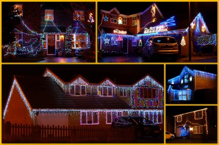 Bradley Stoke Christmas Lights 2012.